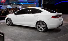White Dodge Dart 2013 car wallpaper - Car Picture Collection