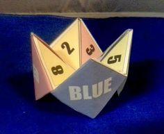 Day 5 - Cootie Catcher Origami