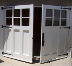 Articles about custom swing out carriage house garage doors. Evergreen Carriage Doors builds custom hand & Building carriage doors from scratch - The Garage Journal Board ...