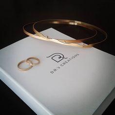 """57 """"Μου αρέσει!"""", 3 σχόλια - D.R.'s Creations (@drscreations) στο Instagram: """"King and Queen ... wedding wreaths and wedding rings!!! #drsbridaledition #kingandqueen #newdesign…"""" Wedding Wreaths, Jewelry Box, Wedding Rings, Bridal, Bracelets, Gold, King, Queen, Weddings"""