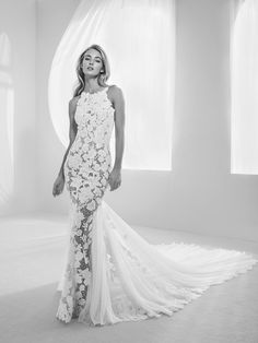 WedLuxe– Atelier Pronovias – 2018 Collection |  Follow @WedLuxe for more wedding inspiration!