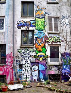 Graffiti Hamburg, Germany