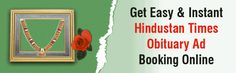 HINDUSTAN TIMES OBITUARY ADS FOR BEREVAMENT SUPPORT Online Advertising, Advertising Agency, Feeling Helpless, Local News, Ads, Times, Education, Feelings, Reading