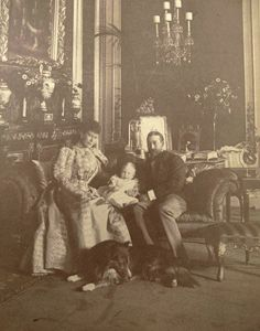 Mary and George with young Edward