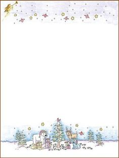 Holiday borders for microsoft word christmas backgrounds print off some free christmas stationery and letterhead templates for your family newsletter letters from santa or fun holiday notes maxwellsz