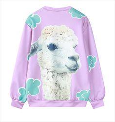 Sudadera Alpaca Sweatshirt WH340 - Thumbnail 4