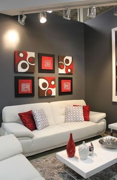 Trend Red And Black Living Room Ideas Interior