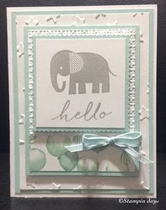 Stampin days; zoo babies, watercolor wishes, lucky stars, birthday bouquet dsp, Stampin' UP!