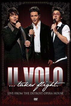 IL VOLO - TAKES FLIGHT LIVE FROM DETROIT OPERA HOUSE en DVD - NEUF !!!