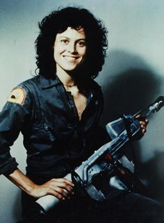 Rare SMILE of Ripley (character, obviously)