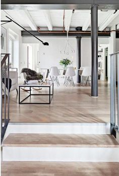 Old spice factory loft living