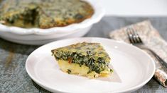 Spinach Hash Brown Quiche -Clinton Kelly, The Chew The Chew Recipes, Cooking Recipes, Yummy Recipes, Brunch Recipes, Breakfast Recipes, Breakfast Ideas, Spinach Quiche, Creamed Spinach, Breakfast Quiche