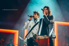 for KING & COUNTRY is a legacy band of Rebecca's. King And Country, Country Girls, Great Bands, Cool Bands, Christian Music Artists, Just Style, Music Mood, Pretty Men, Gospel Music