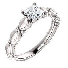 Looking for inspired engagement ring with magnificent look - Affordable! - $399.99 - http://www.mybridalring.com/Rings/round-sculptural-inspired-engagement-ring/