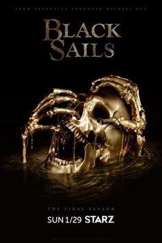 Starz has announced a January premiere date and released key art for the fourth and final season of Black Sails. Do you plan to watch the end of the pirate drama series? Tell us.