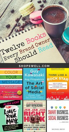 12 Must-Read Books for Business Owners. Great social media marketing advice from thought leaders in the space including Guy Kawasaki, Chris Brogan, Gary Vaynerchuk, Mack Collier, and others.