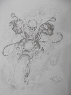 Ghost Rider Bleistift von Juliano-Pereira auf DeviantArt - I Love Motorrad Ghost Rider Bike, Ghost Rider Costume, Ghost Rider Marvel, Ghost Rider Drawing, Ghost Rider Tattoo, Bike Drawing, Harley Tattoos, Ghost Rider Pictures, Horror Drawing