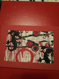Postkarte gestempelt