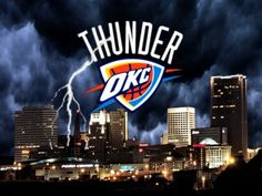 The OKC Thunder is the best basketball team ever! The top 2 basketball players are Kevin Durant and Russell Westbrook! I like Kevin Durant. Thunder is in Oklahoma City! Thunder Oklahoma, Oklahoma City Thunder Basketball, Thunder Nba, Basketball Teams, Sports Teams, Sports Pics, Oklahoma Sooners, Basketball Court, Thunder Strike