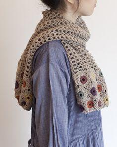 crochet shawl scarf