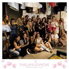 Foto di gruppo all'evento #ParlamidAmore!