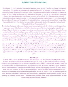Mayflower Passengers page 4 Family History Book, History Books, Royal Wedding Harry, William Bradford, Old Family Photos, Family Research, Genealogy Research, Family Trees, May Flowers
