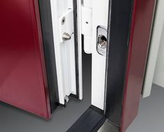 I want external doors with Tresorbolzen or security safety pegs/studs as I believe they're called in the US.