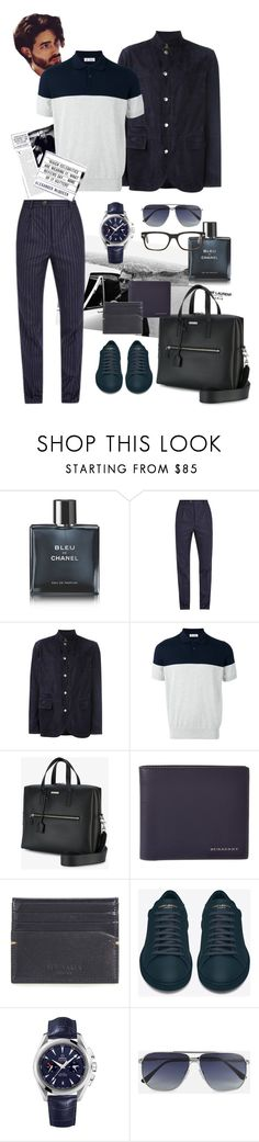 """Autumn is knocking at our door.."" by bm-bojanamilanovic ❤ liked on Polyvore featuring Yves Saint Laurent, Chanel, Alexander McQueen, Brunello Cucinelli, Burberry, Ted Baker, OMEGA, Tom Ford, men's fashion and menswear"