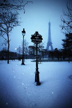 Winter in Paris. HERMOSO