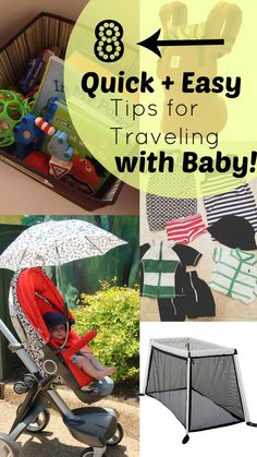 @Christine Palazzolo-Edwards @Rosie Thompson 8 Tips for Traveling with Baby