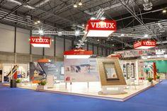Diseño Stand Velux para la feria Veteco 2014 en Ifema