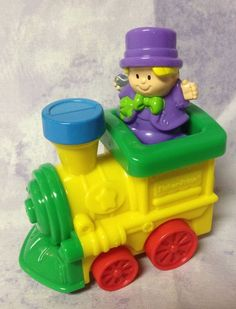 FISHER PRICE LITTLE PEOPLE CIRCUS TRAIN #FisherPrice