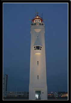 Lighthouse Noordwijk aan Zee, Netherlands, by gill4kleuren,