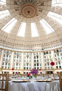 West Baden Springs Hotel in Indiana is a 1900s resort wedding venue with a stunning atrium | Brides.com