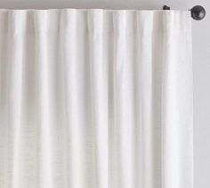 Shop Pottery Barn for expertly crafted linen curtains and window panels. Find quality linen drapes in solid colors or patterns and dress up your windows in style. Grey Blackout Curtains, Neutral Curtains, Sheer Linen Curtains, Cotton Curtains, White Curtains, Grommet Curtains, Drapes Curtains, Bedroom Curtains, Bed Linen