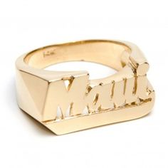 14k Solid Gold Maui Ring
