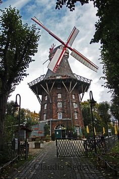 Windmühle in Bremen