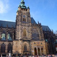 St. Vitus Cathedral, within the walls of Prague Castle. Photo courtesy of bababu0204 on Instagram.