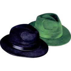d35927edd85f0 Kritzer Marketing from New York NY USA Velvet   felt fedora hat (fabric  covered 2 sides).