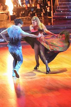 Willow Shields and Mark Ballas - week three #TeamMarkingjay #DWTS