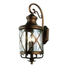 TransGlobe Lighting Four Light Outdoor Wall Lantern
