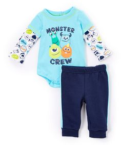 Another great find on #zulily! Bodysuit & Pants - Infant #zulilyfinds