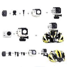 Wholesale SJ4000 Waterproof HD 1.5 Inch Car DVR Camera Sport DV Novatek 1080P