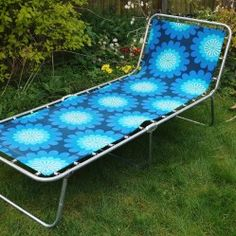 1960s vintage sunlounger from vintageactually.co.uk Award winning online vintage homestore