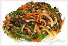 Кулинарная книга Алии: 66. Баклажаны по-корейски
