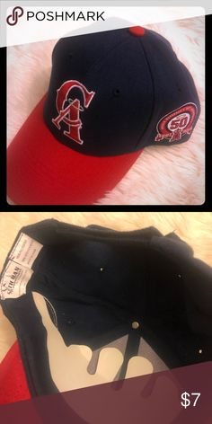 buy popular 01c12 08850 Los Angeles Angels 2011 collectible hat A true collectors hat for any MLB  fan. The Angels special edition 50 yrs cap MLB Accessories Hats