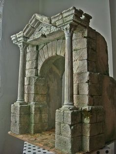 1 million+ Stunning Free Images to Use Anywhere 40k Terrain, Wargaming Terrain, Miniature Crafts, Miniature Houses, Knights Of The Zodiac, Landscape Model, Medieval Houses, 3d Modelle, Christmas Nativity Scene
