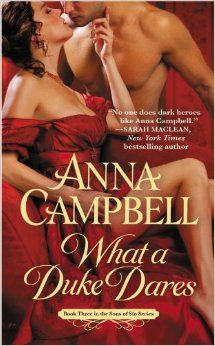 What a Duke Dares by Anna Campbell is Nominated for FIVE Australian Romance Reader Awards! Favorite Historical Romance, Favorite Continuing Romance series (Sons of Sin), Favorite Australian Romance Author, Favorite Romance Cover, Sexiest Romance Hero Historical Romance Novels, Romance Novel Covers, Romance Authors, Historical Fiction, Regency Romance Novels, Writing Romance, Writing Advice, Writing Ideas, Judith Mcnaught