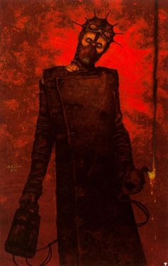 Gerald Brom...this piece is sick. I love it!