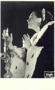 Renata Tebaldi in Tosca